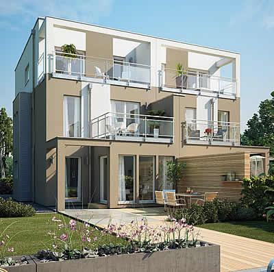 Bauhaus bauhaus exklusiv modernes architekten haus for Modernes l haus