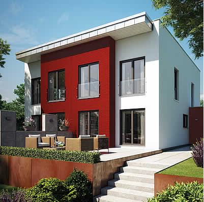bauhaus bauhaus exklusiv modernes architekten haus modernes architekten haus moderne. Black Bedroom Furniture Sets. Home Design Ideas